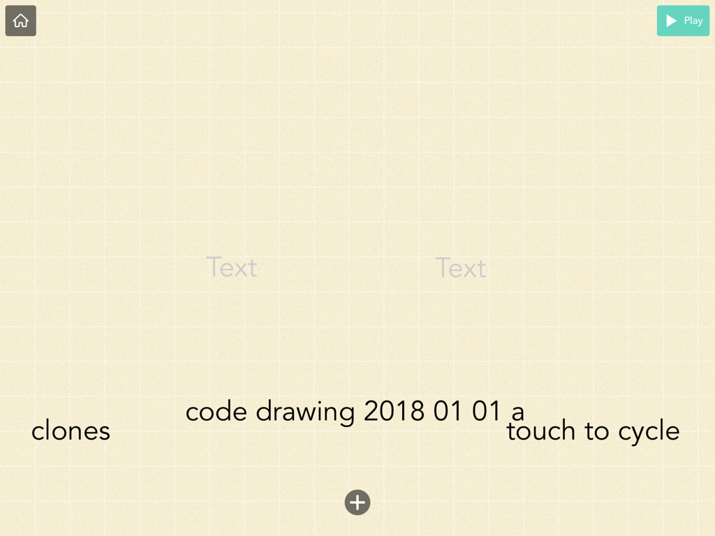 title page for first code drawing of 2019